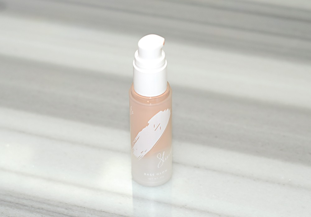 one over one sheer light base glow