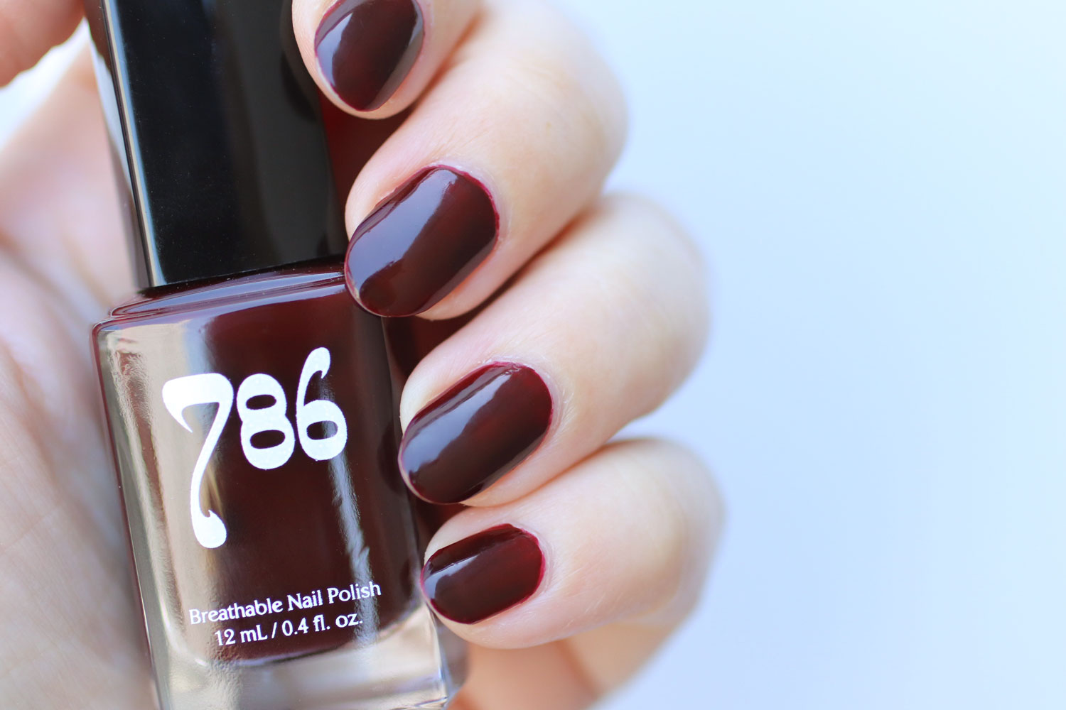 786 Cosmetics Breathable Cruelty Free and Vegan Nail Polish Swatch - Istanbul
