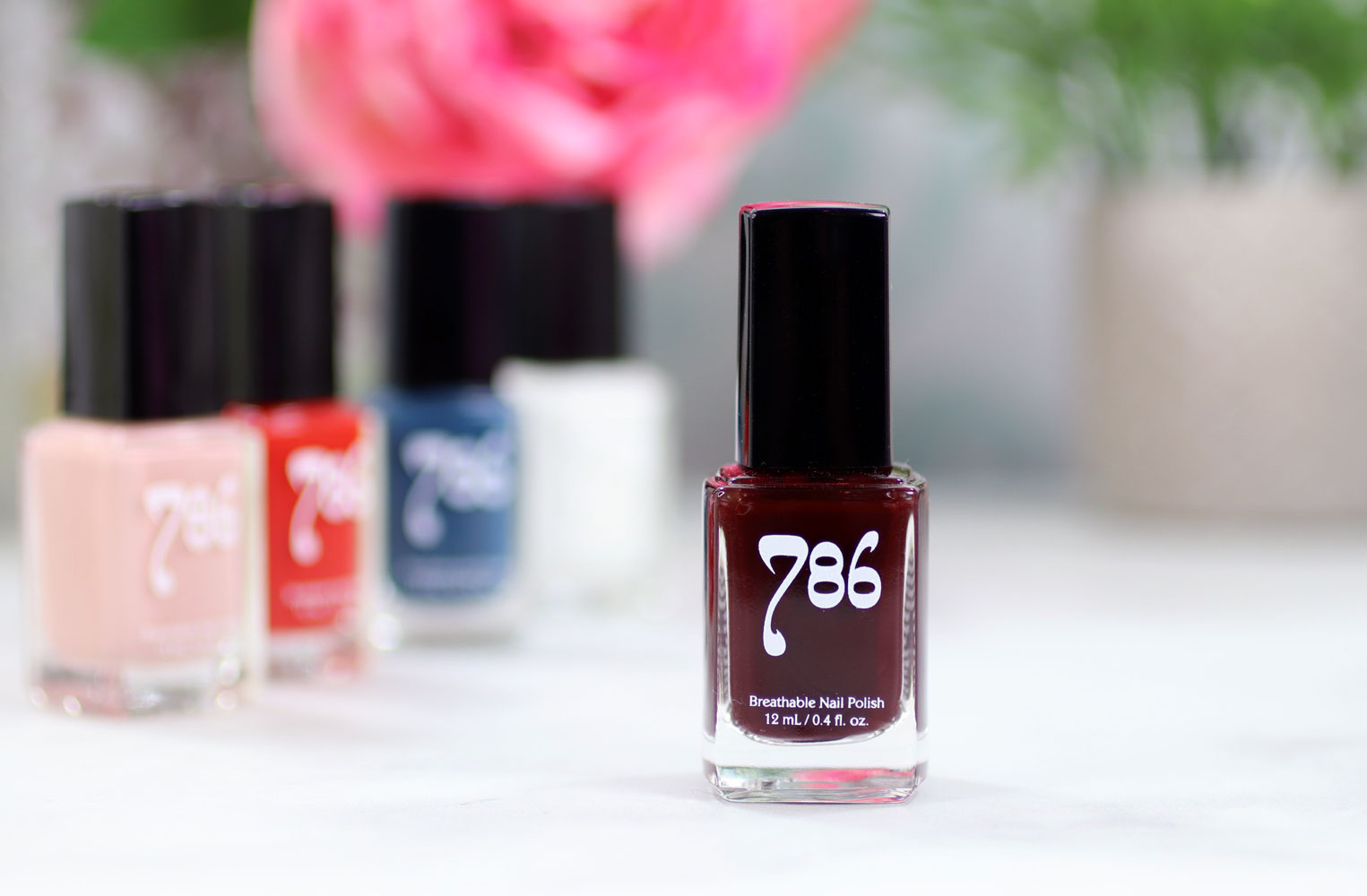 786 Cosmetics Breathable Cruelty Free and Vegan Nail Polish Review and Swatches - Istanbul