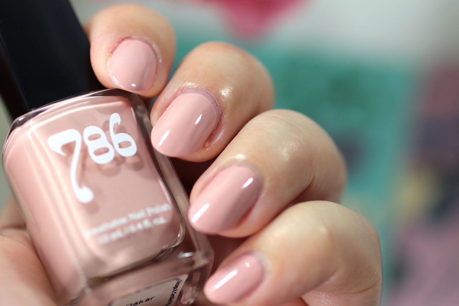 786 Cosmetics Breathable Cruelty Free and Vegan Nail Polish Swatch - Dakar