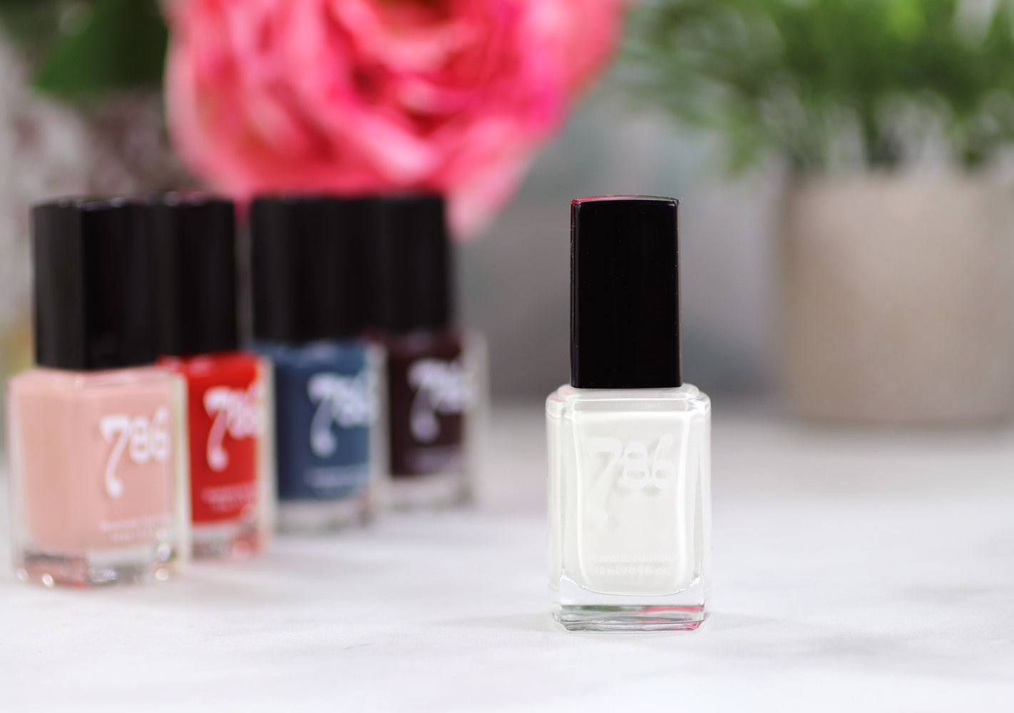 786 Cosmetics Breathable Cruelty Free and Vegan Nail Polish Review and Swatches - Abu Dhabi