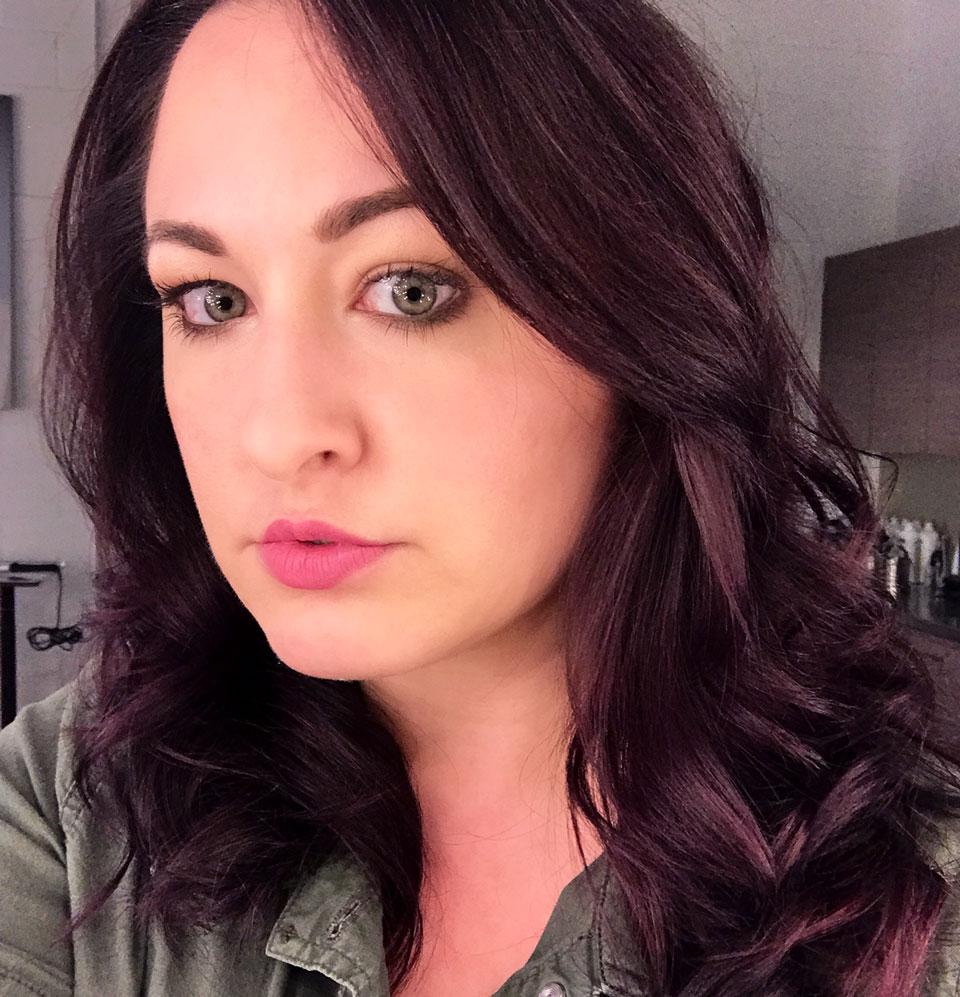 Purple Hair From Spoke And Weal An Aveda Salon My Beauty Bunny