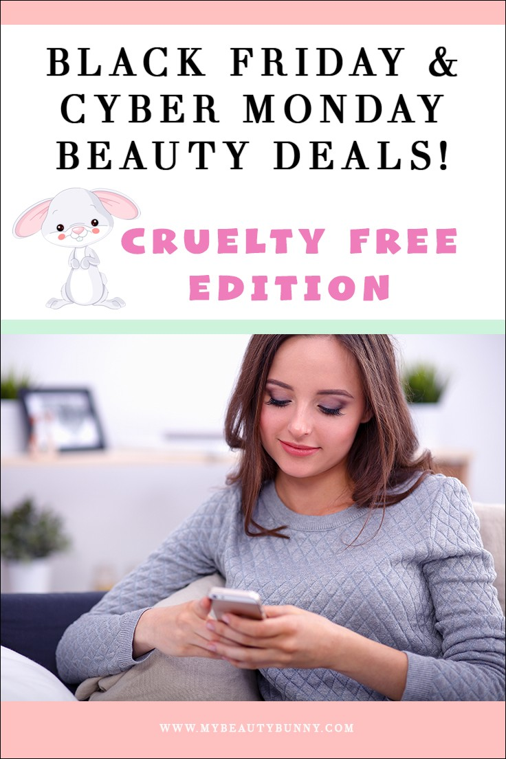2018 Cruelty Free Black Friday and Cyber Monday Deals List