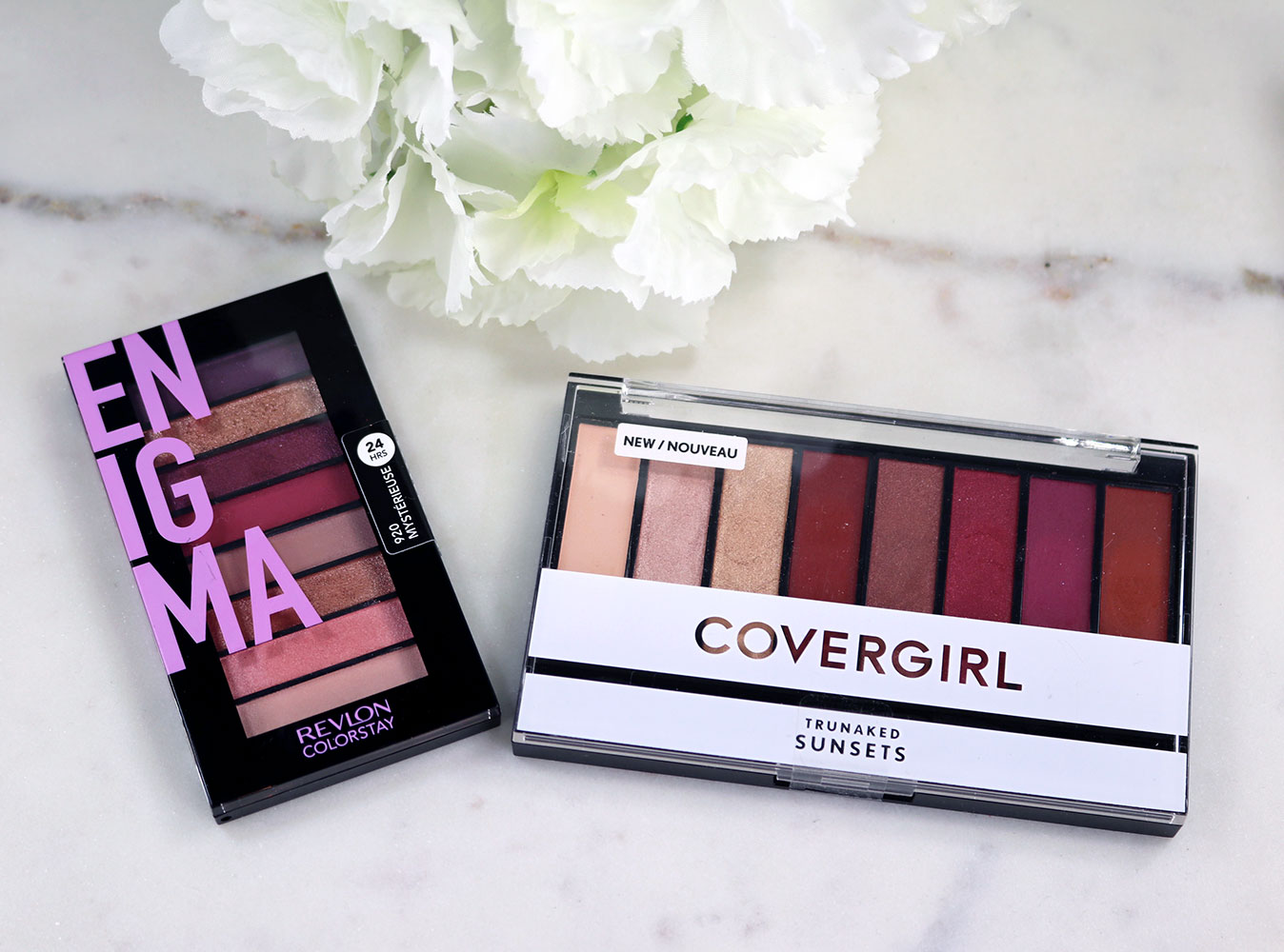 Cruelty free Covergirl dupe for Revlon eyeshadow palette