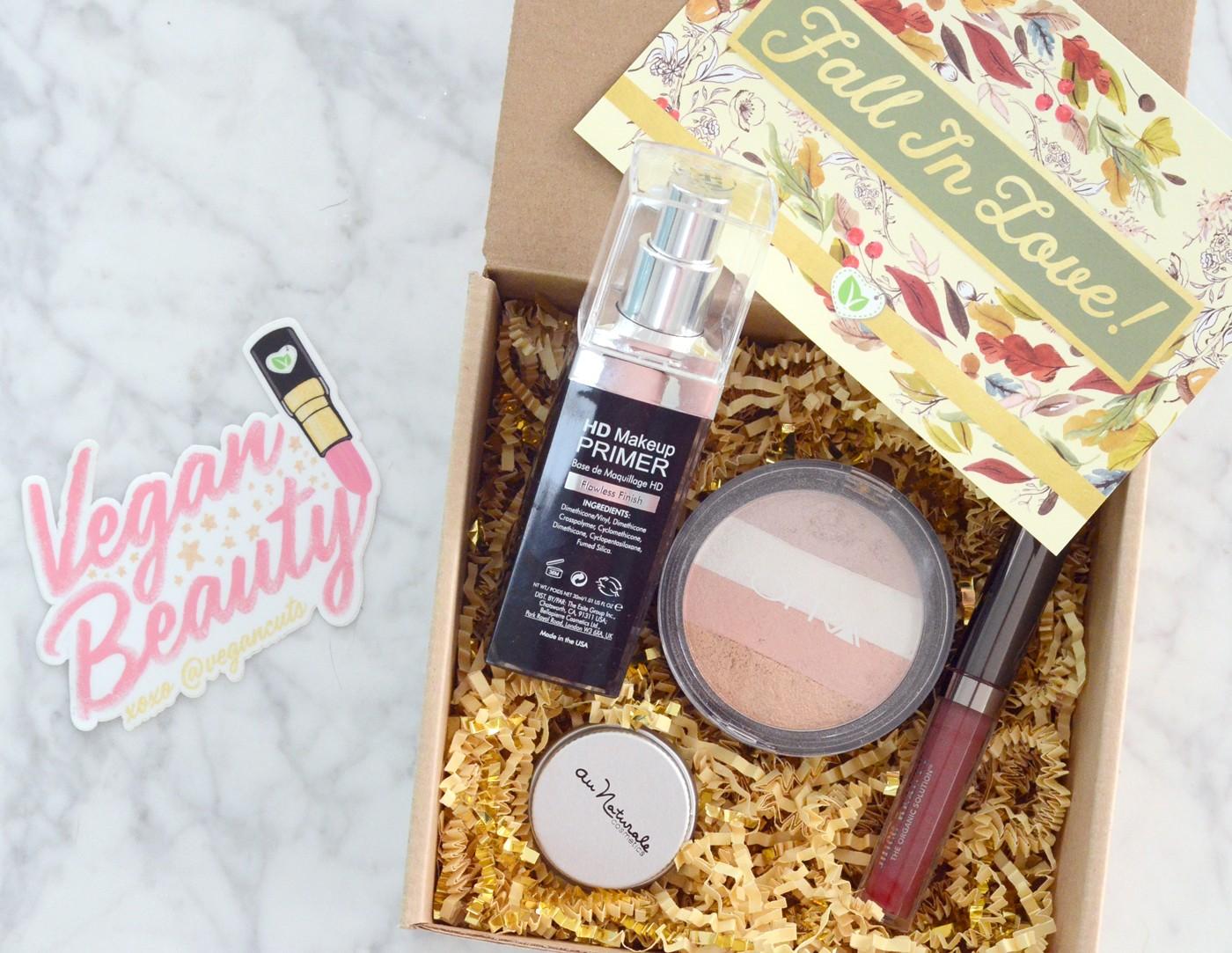 vegan cuts fall makeup box