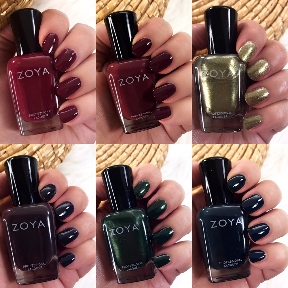Zoya Sophisticates Collection Swatches and Review