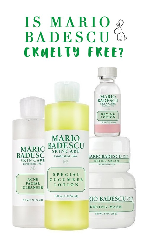 is mario badescu cruelty free my beauty bunny