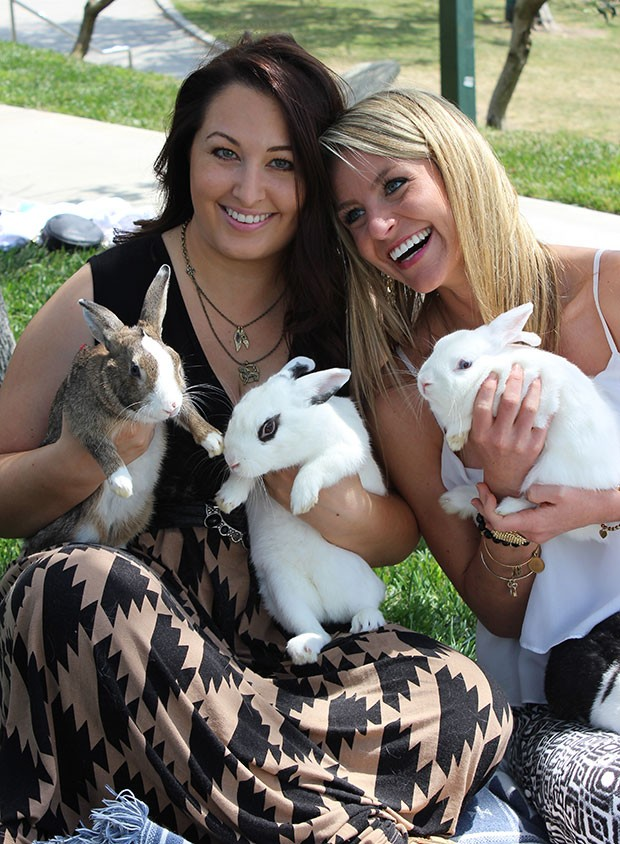 Jen and Jess bunnies