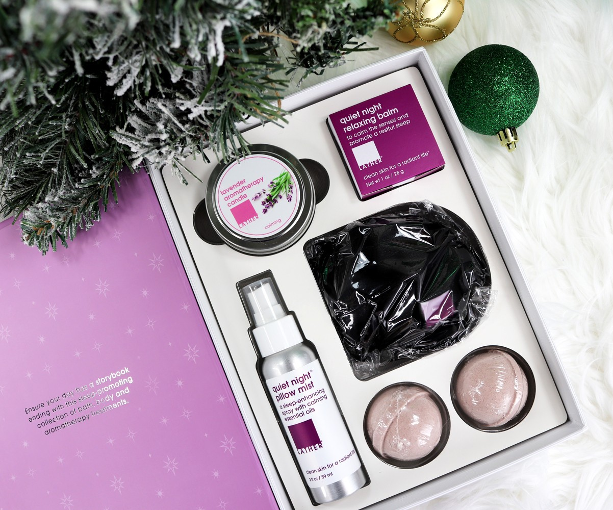 Cruelty Free Holiday Gift Guide - LATHER Bedtime Stories Gift Set