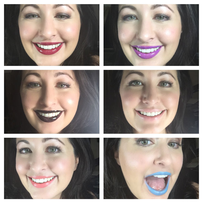 Manic Panic Lipstick and Lip Gloss Review
