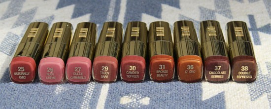 Milani Neutral Lipstick Swatches My Beauty Bunny