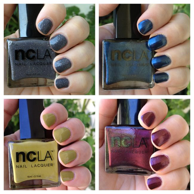 NCLA Fall Nail Polish Colors | My Beauty Bunny