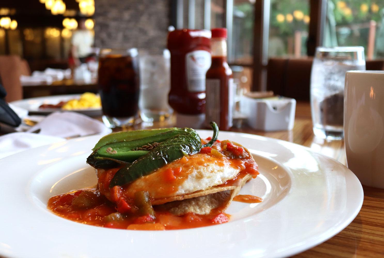 Breakfast at Pechanga Journeys End Restaurant Overlooking the Golf Course