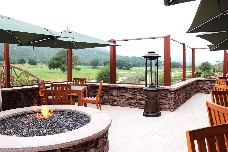 Pechanga Journeys End Restaurant Overlooking the Golf Course