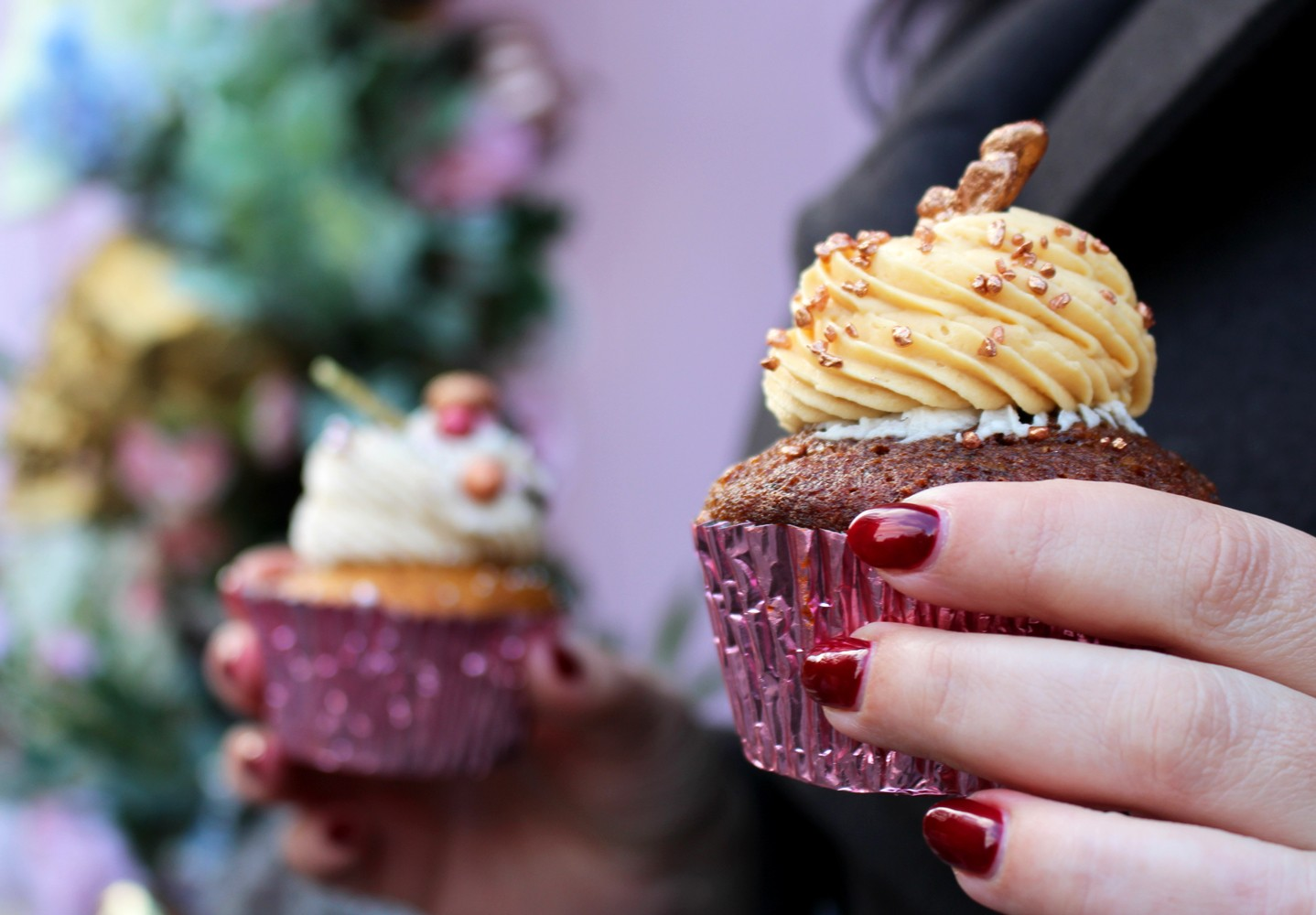 Couples Guide to London - Peggy Porschen Bakery Cupcakes London