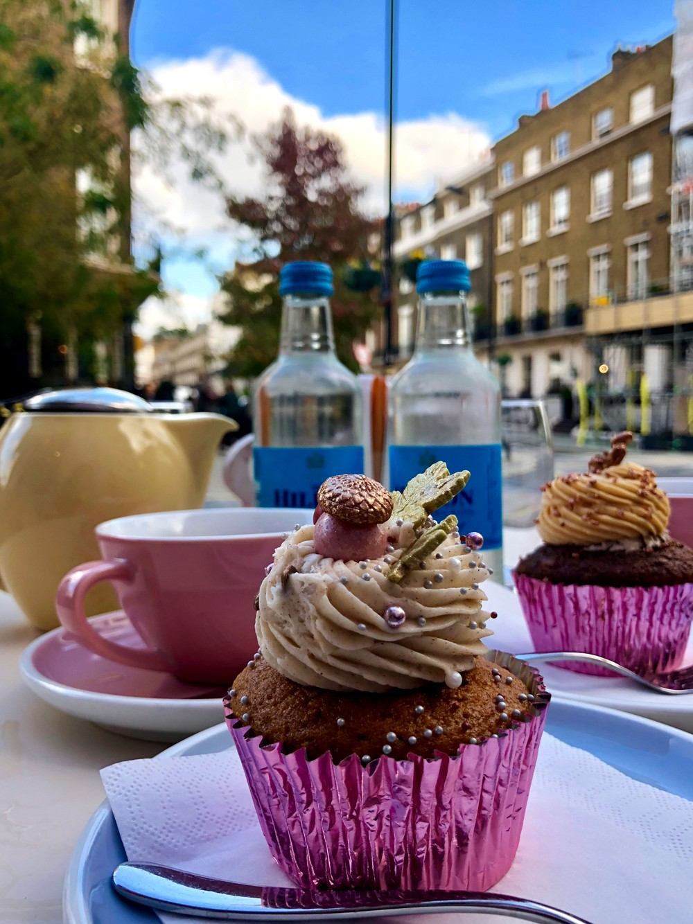 How to take great photos while traveling - Peggy Porschen cupcakes London