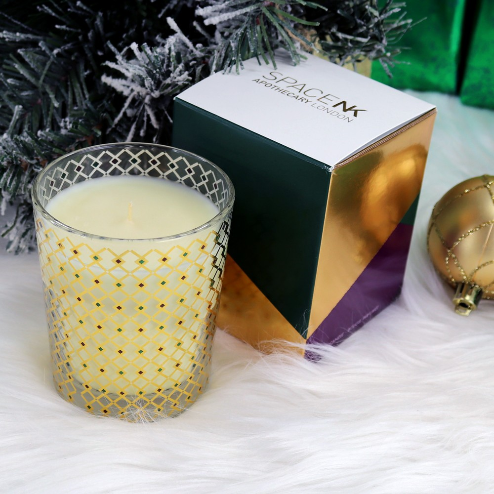 Space NK Shimmering Spice Holiday Candle