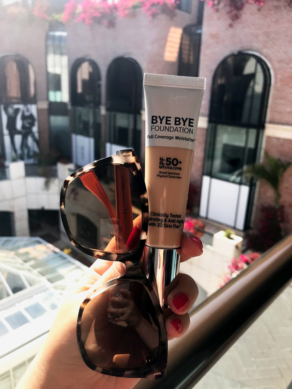Sunglasses and SPF   PiQo4 Laser - the Only Melasma Treatment that has Ever Worked for Me! featured by popular Los Angeles cruely free beauty blogger My Beauty Bunny