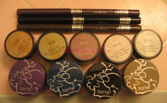 Tarte Waterproof eye colors