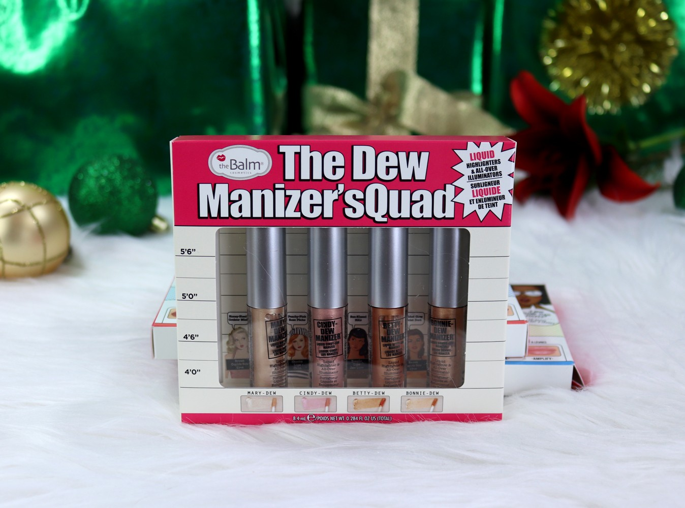 Cruelty Free Holiday Gift Guide - The Balm Dew Manizer'sQuad