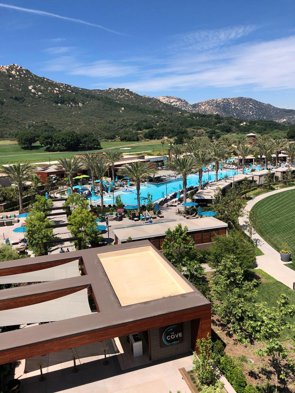 Pechanga Resort Casino The Cove Pools and Cabanas