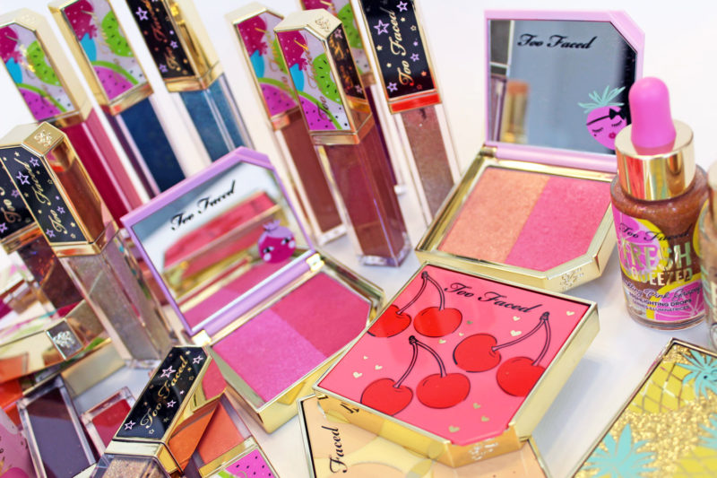Too Faced Tutti Frutti collection review and swatches by cruelty free beauty blog My Beauty Bunny