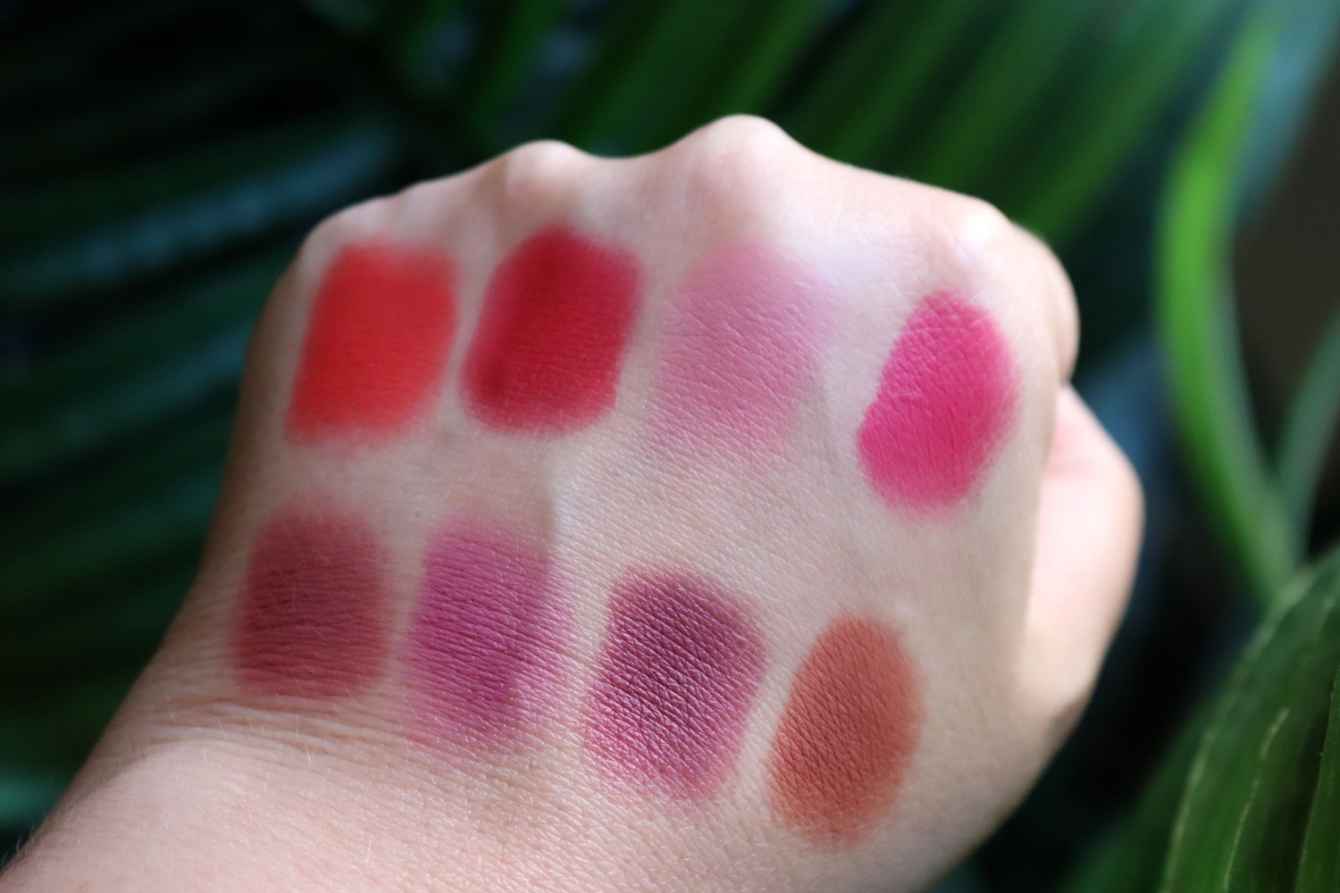 Urban Decay Lo Fi Lip Mousse Swatches