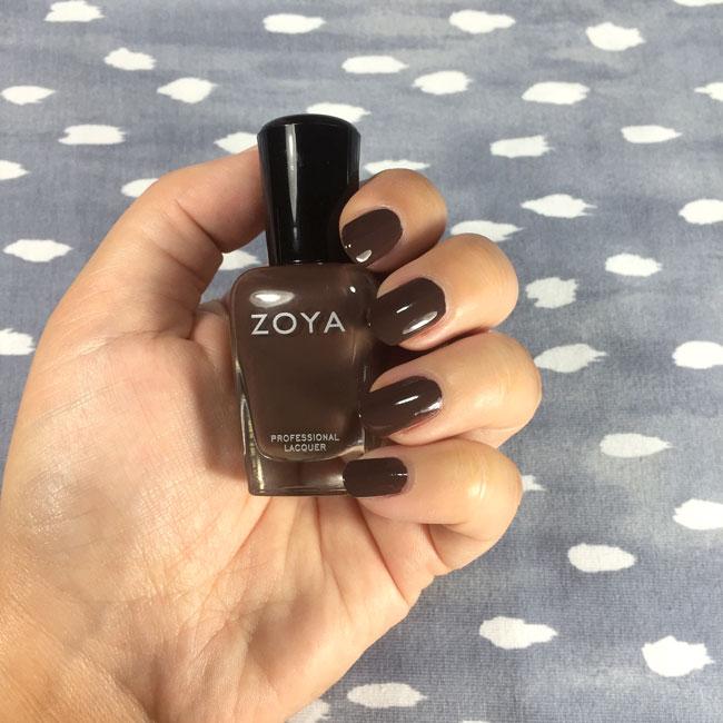 Zoya Desiree nail polish