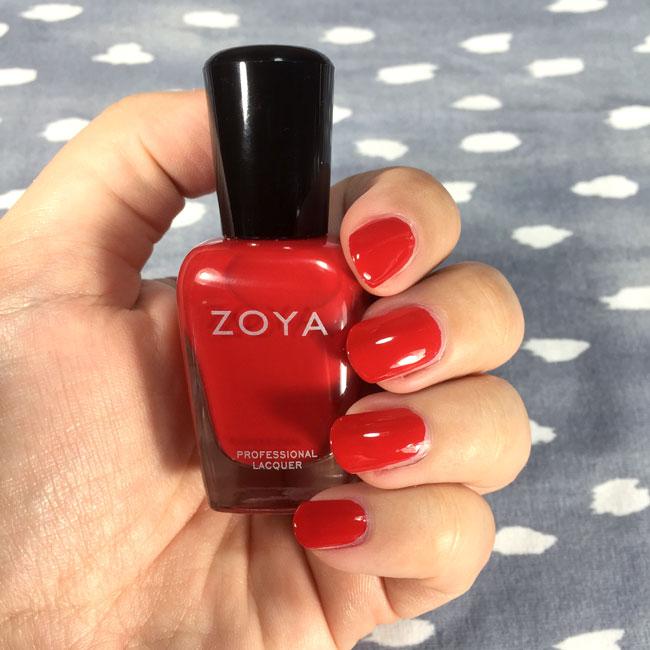 Zoya Hannah nail polish