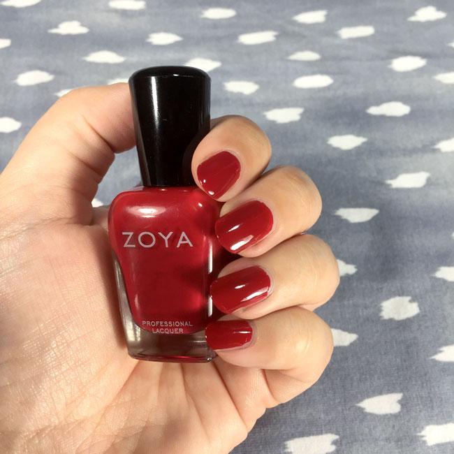 Zoya Janel nail polish