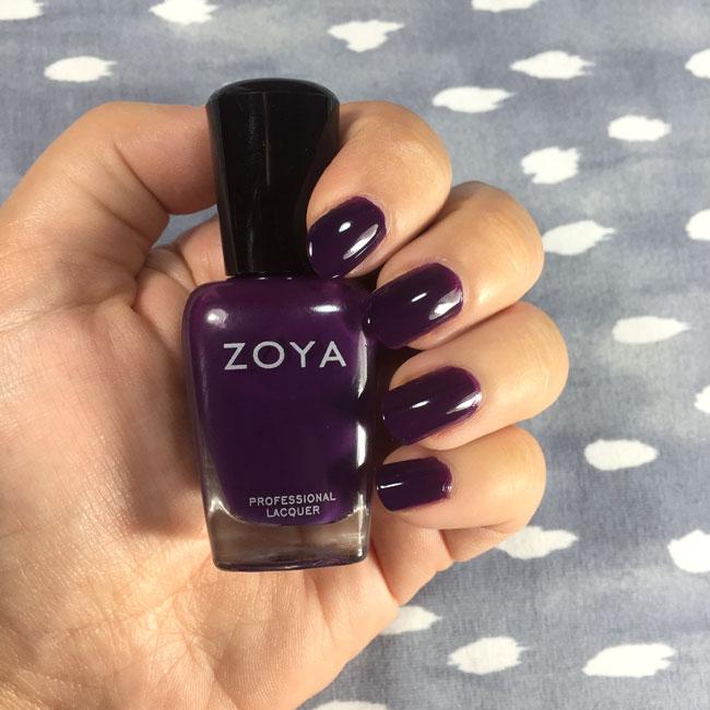 Zoya Lidia nail polish