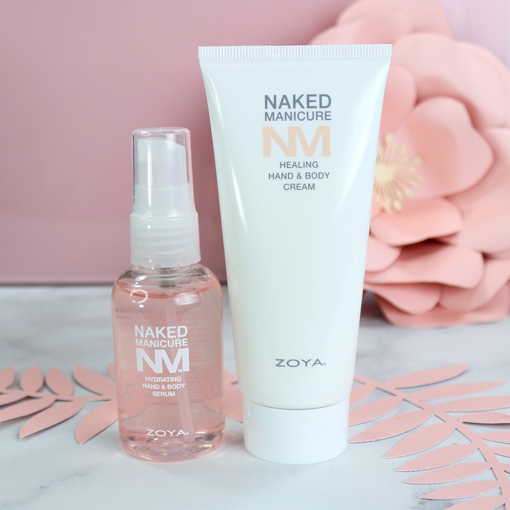 Zoya Naked Manicure Hand Serum and Hand Cream - review by popular Los Angeles beauty blogger My Beauty Bunny