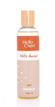 Hello Amour Apricot Massage Oil