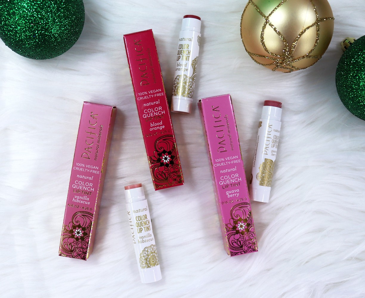 IHerb Holiday Gift Guide - Pacifica Vegan Quench Lip Tint
