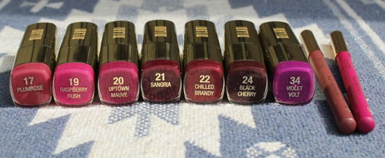 Milani Purple and Pink Lipstick Swatches | My Beauty Bunny