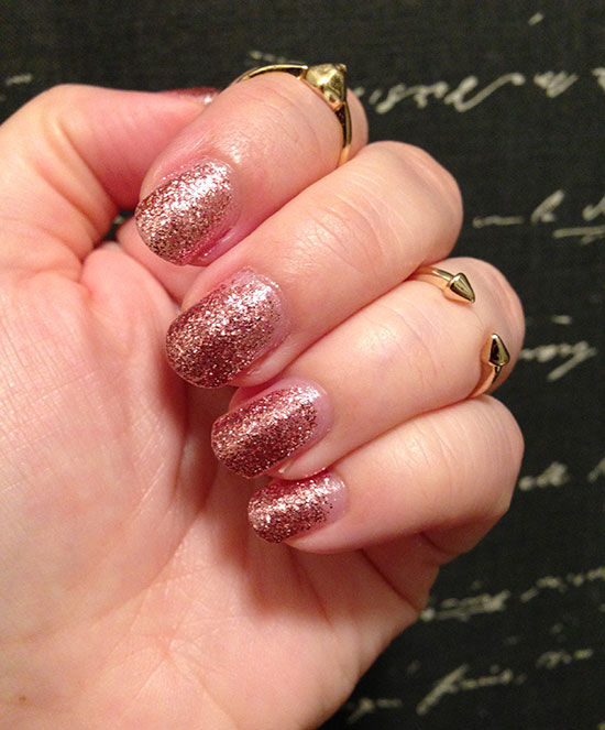 NOTD: Mineral Fusion Shimmering Shale Glitter Nail Polish | My ...