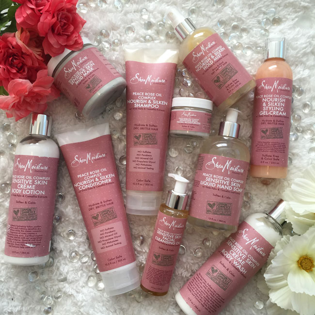 Treat Mom to SheaMoisture Peace Rose Oil Complex Collection   My ...