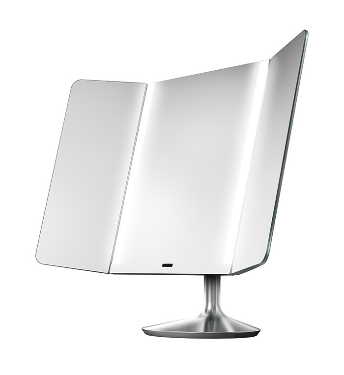simplehuman wide sensor mirror review